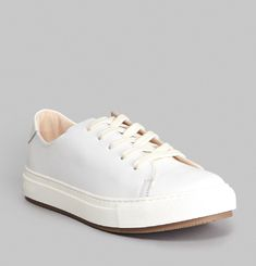 Past Soft Leather Trainers