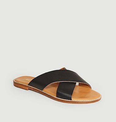 Sandales en cuir Infinity