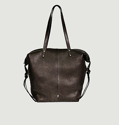 Shopping bag Doudou M in leather
