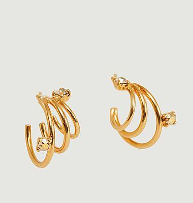 Boucles d'oreilles Spiral