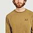 matière Sweatshirt imprimé Bali - Cuisse de Grenouille