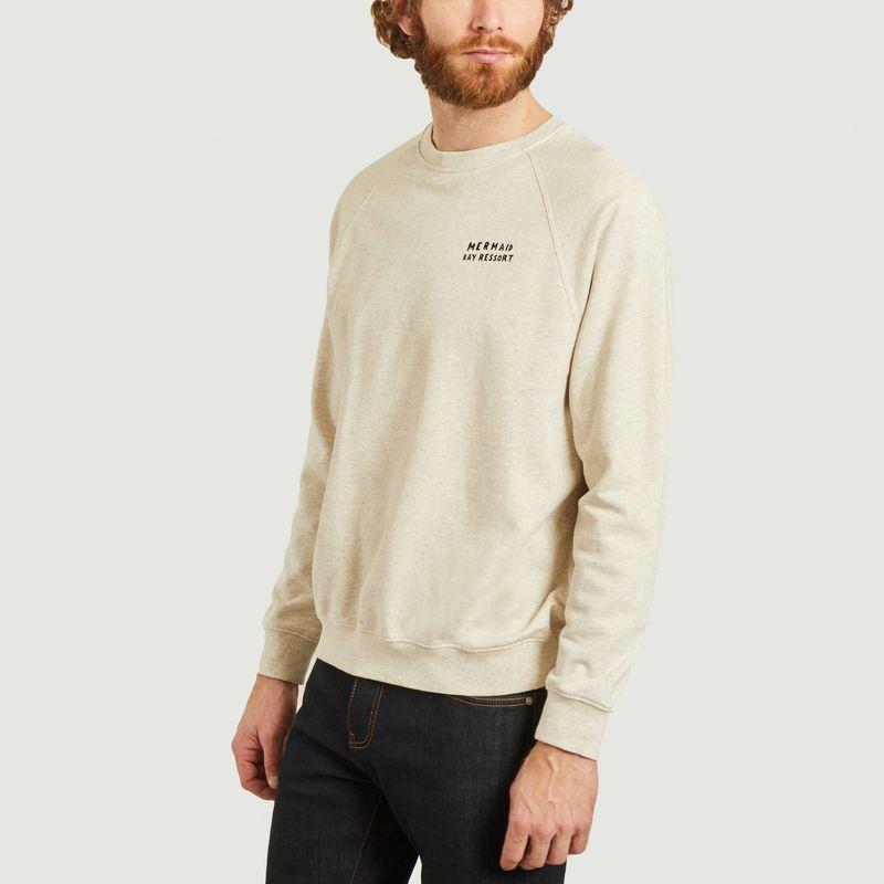 Sweatshirt imprimé Mermaid Bay Resort - Cuisse de Grenouille