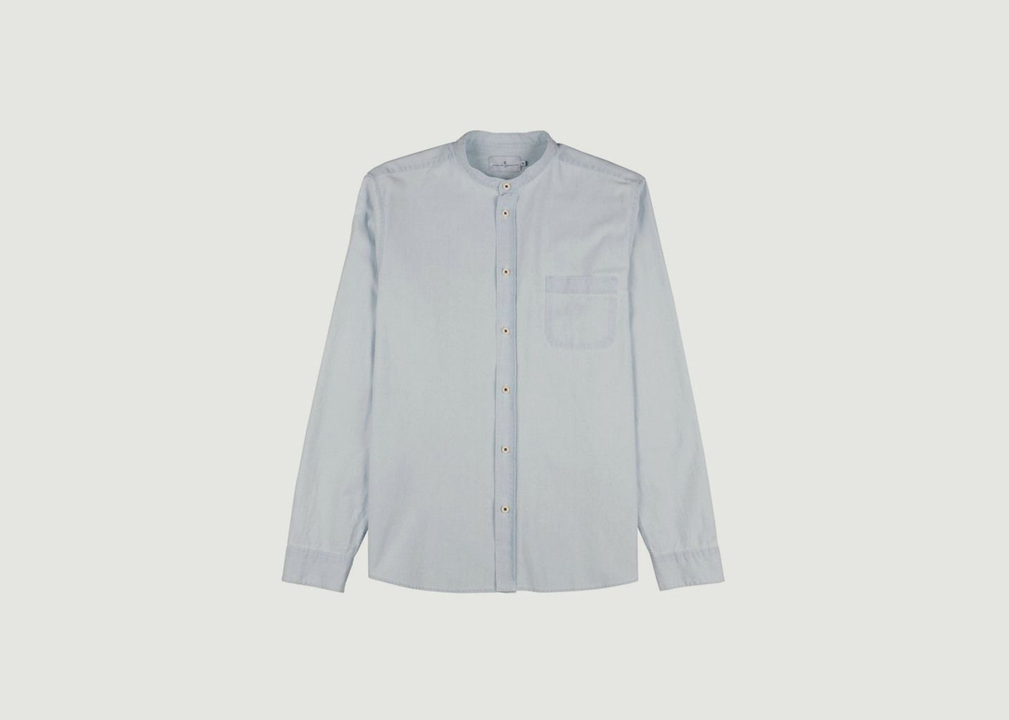 Chemise Chambray Grisbi - Cuisse de Grenouille