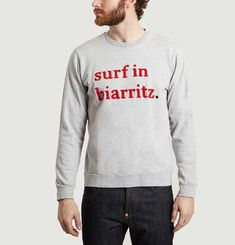 Surf in Biarritz Sweatshirt