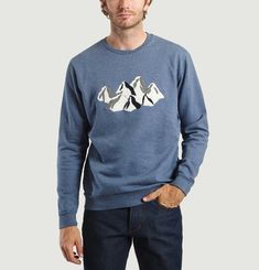 Mountain Embroidered Sweatshirt