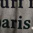matière Sweat Fado Broderie Surf In Paris - Cuisse de Grenouille