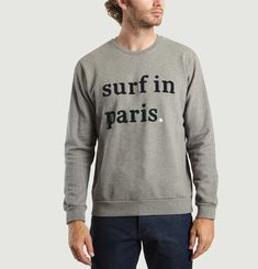 Sweat Fado Broderie Surf In Paris