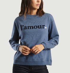 Sweat Fania Broderie L'Amour