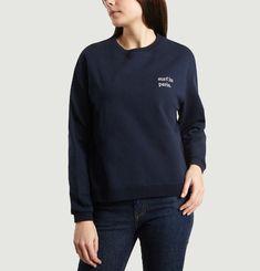 Guimette Surf In Paris Embroidered Sweatshirt