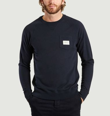 Sweatshirt Poche Label