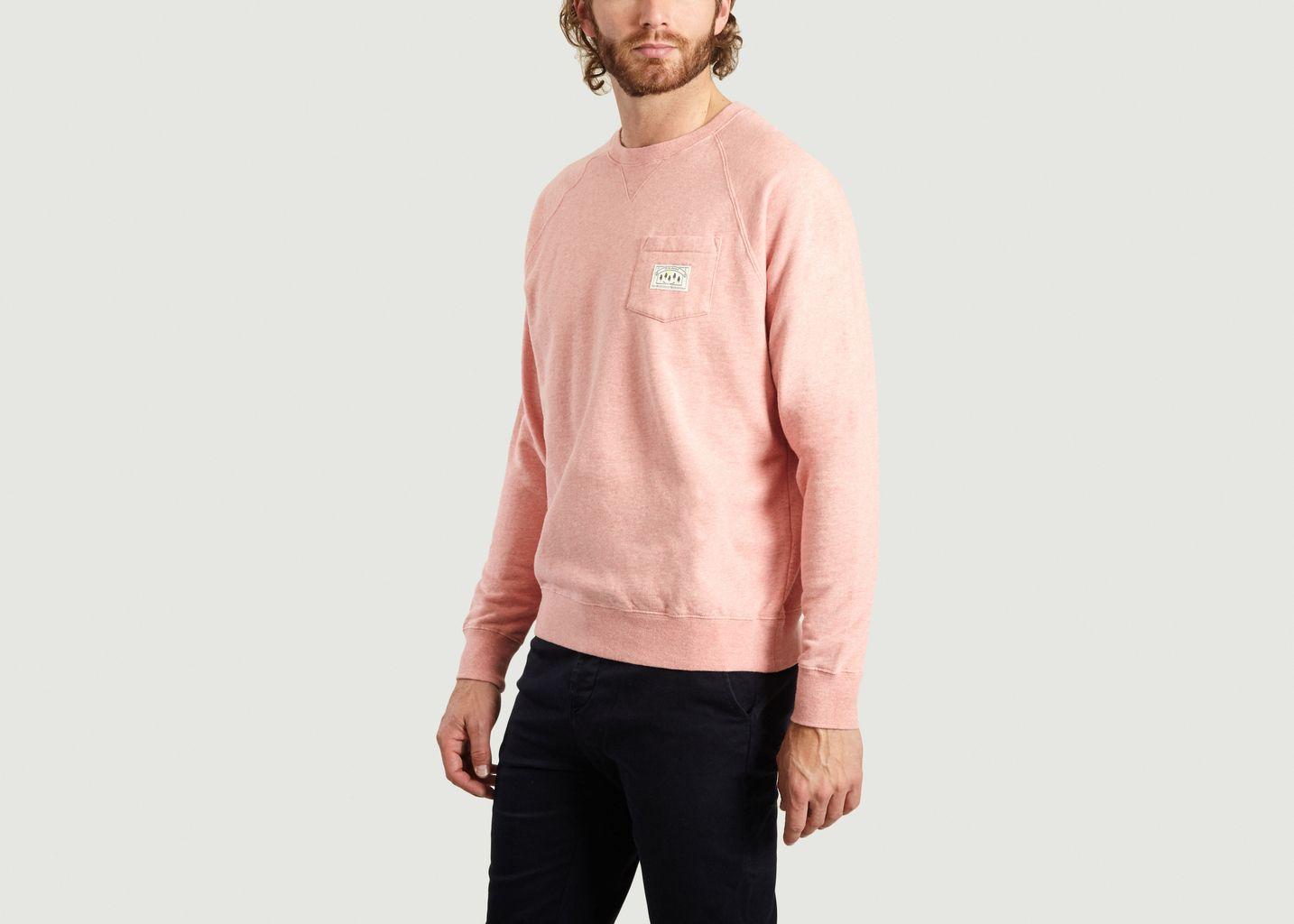 Sweatshirt Poche Label - Cuisse de Grenouille