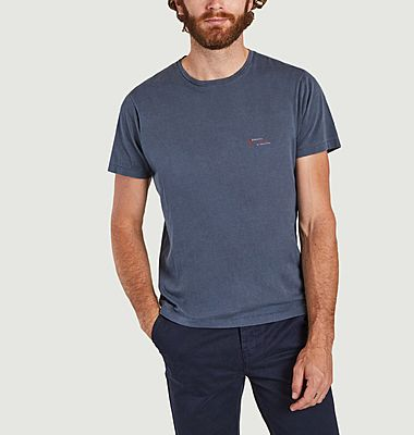 Mael T-Shirt aus Bio-Baumwolle mit Yeti-Aufdruck