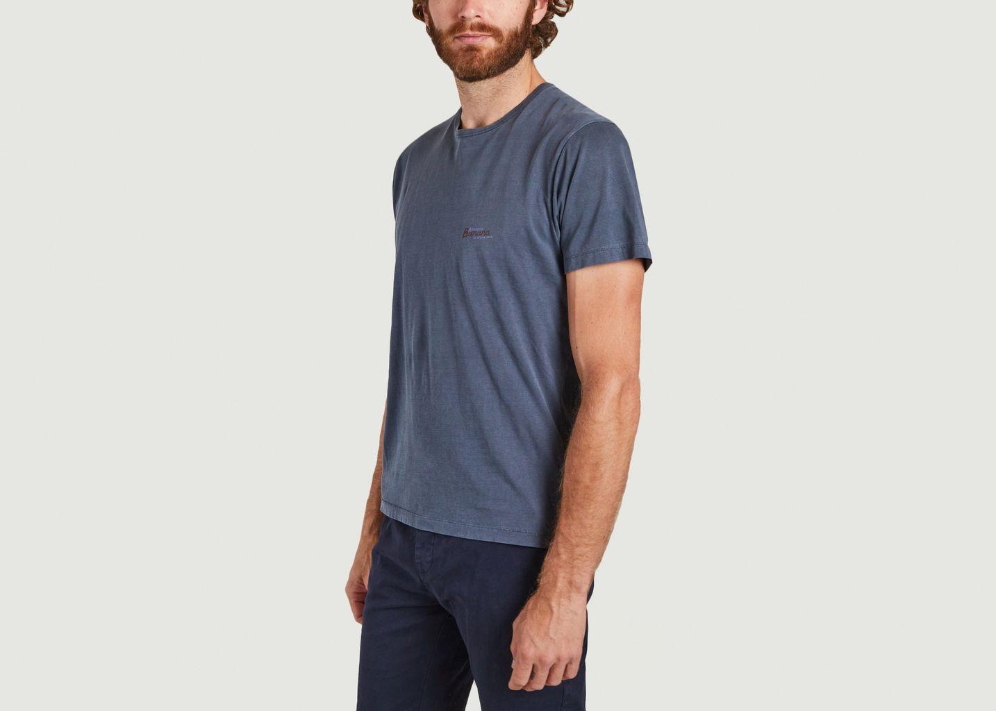 T-shirt en coton bio imprimé yeti Mael - Cuisse de Grenouille