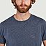 matière T-shirt en coton bio imprimé yeti Mael - Cuisse de Grenouille