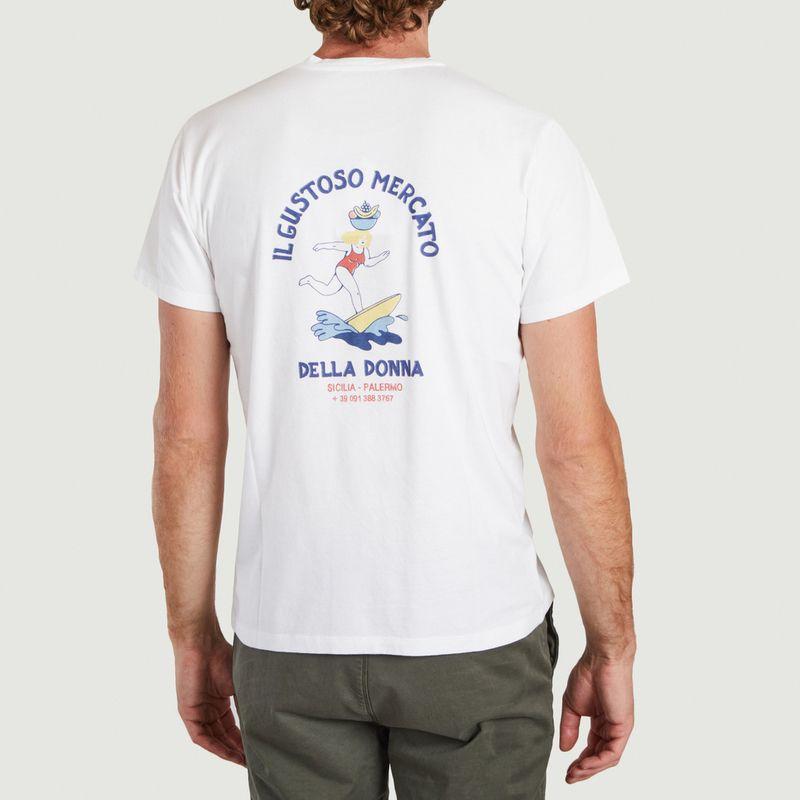T-shirt en coton bio Martial Donna - Cuisse de Grenouille