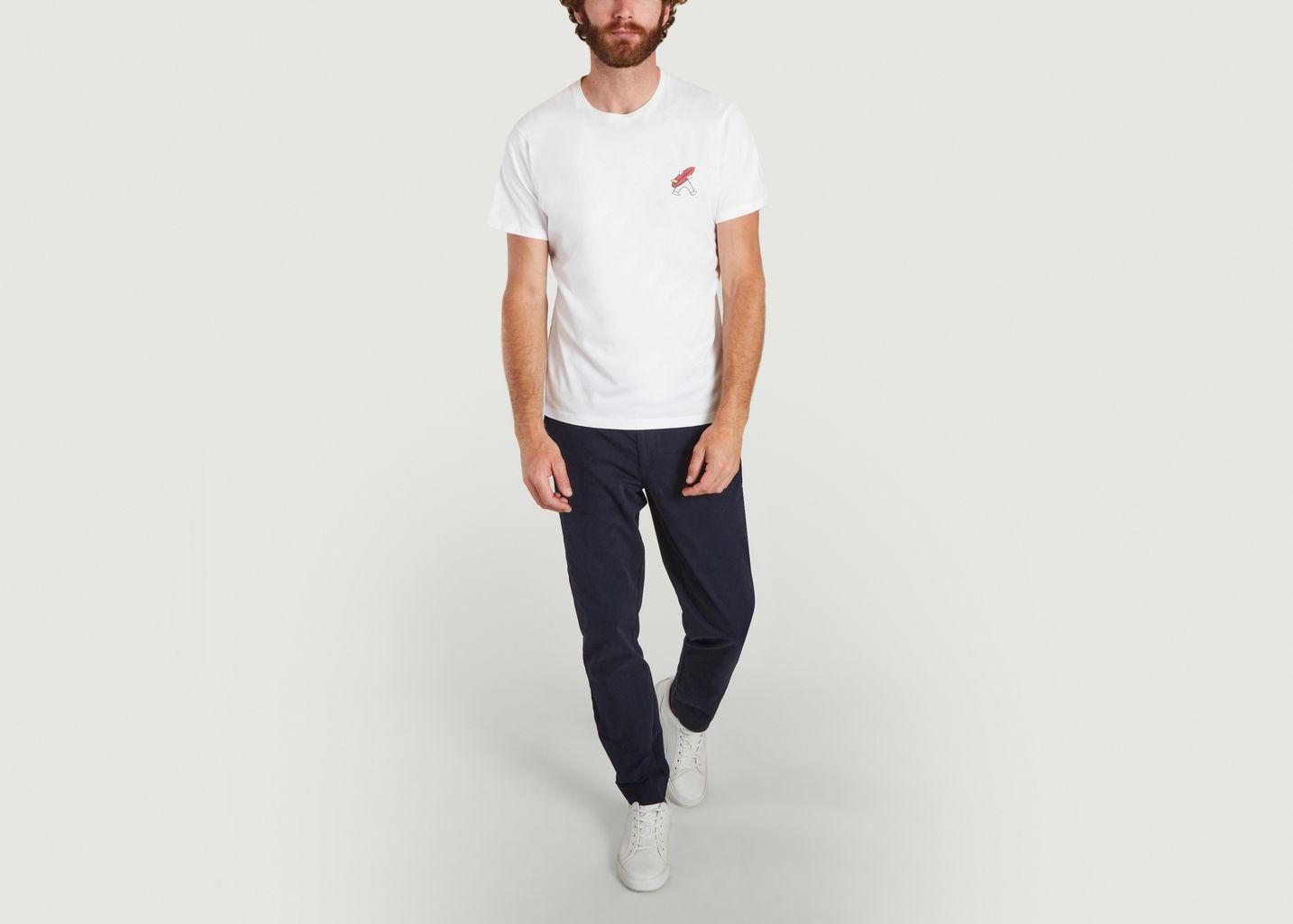 T-shirt en coton bio Maxo Gentleman - Cuisse de Grenouille
