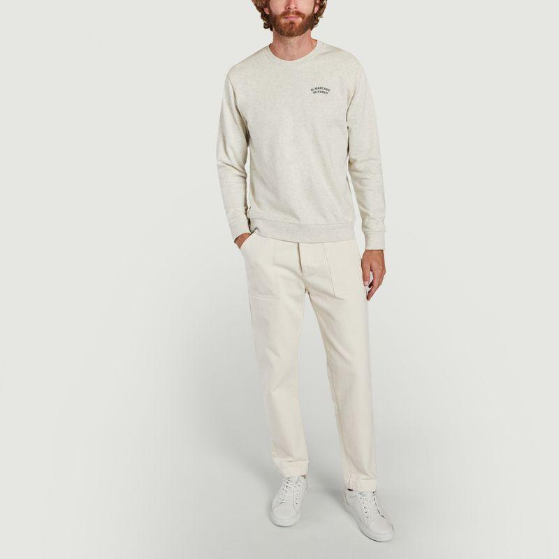 Sweatshirt Matthiew - Cuisse de Grenouille