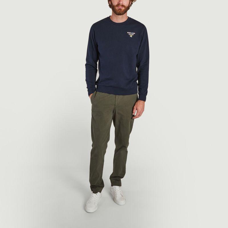 Pantalon droit en coton bio Moriss - Cuisse de Grenouille