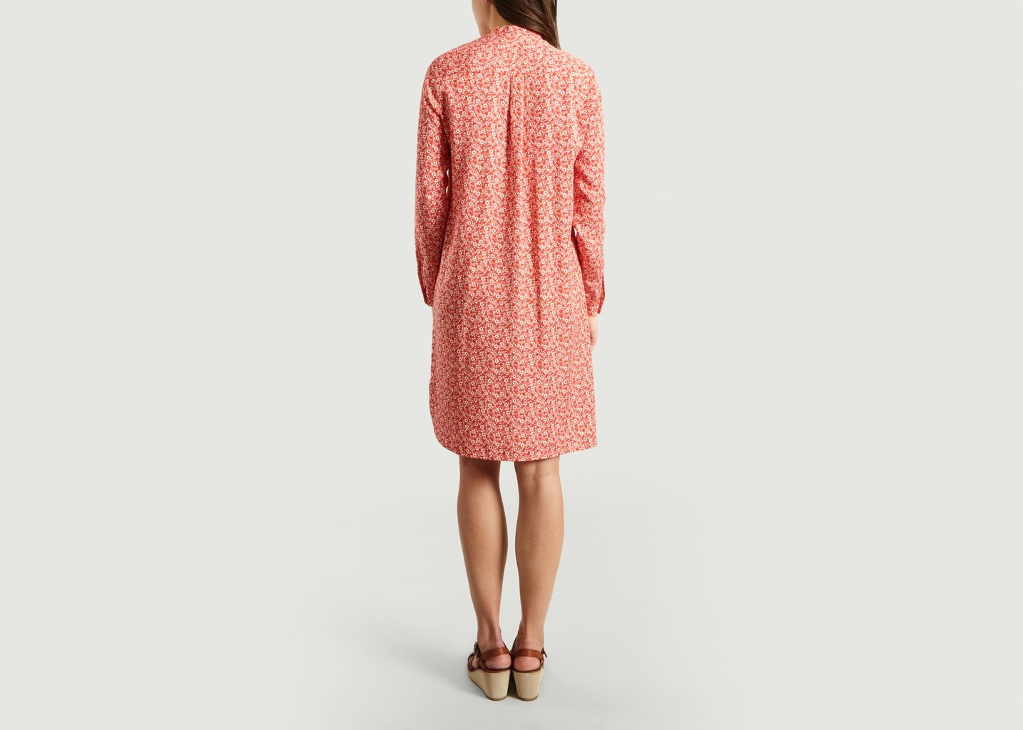 Robe Chemise Fleurie Ginette - Cuisse de Grenouille