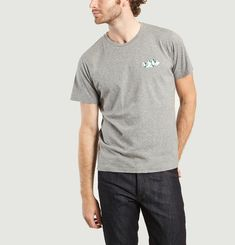 Felix Mountain Embroidered T-shirt