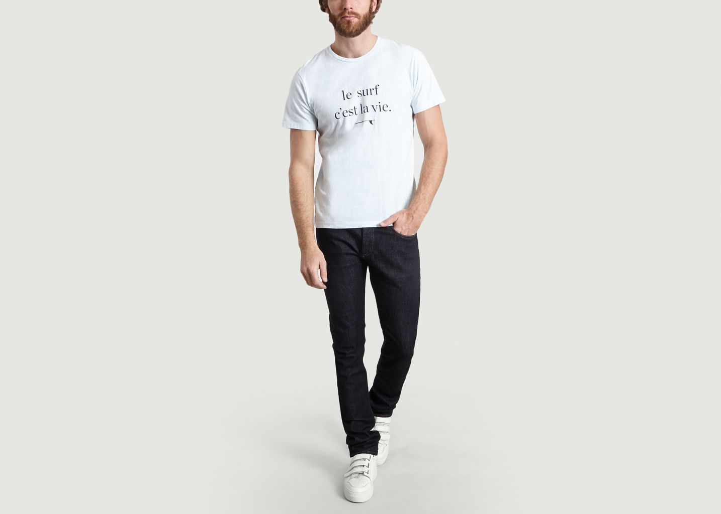 T-Shirt Print Surf Galet - Cuisse de Grenouille