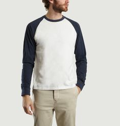 Gaspard Long Raglan Seeved T-Shirt