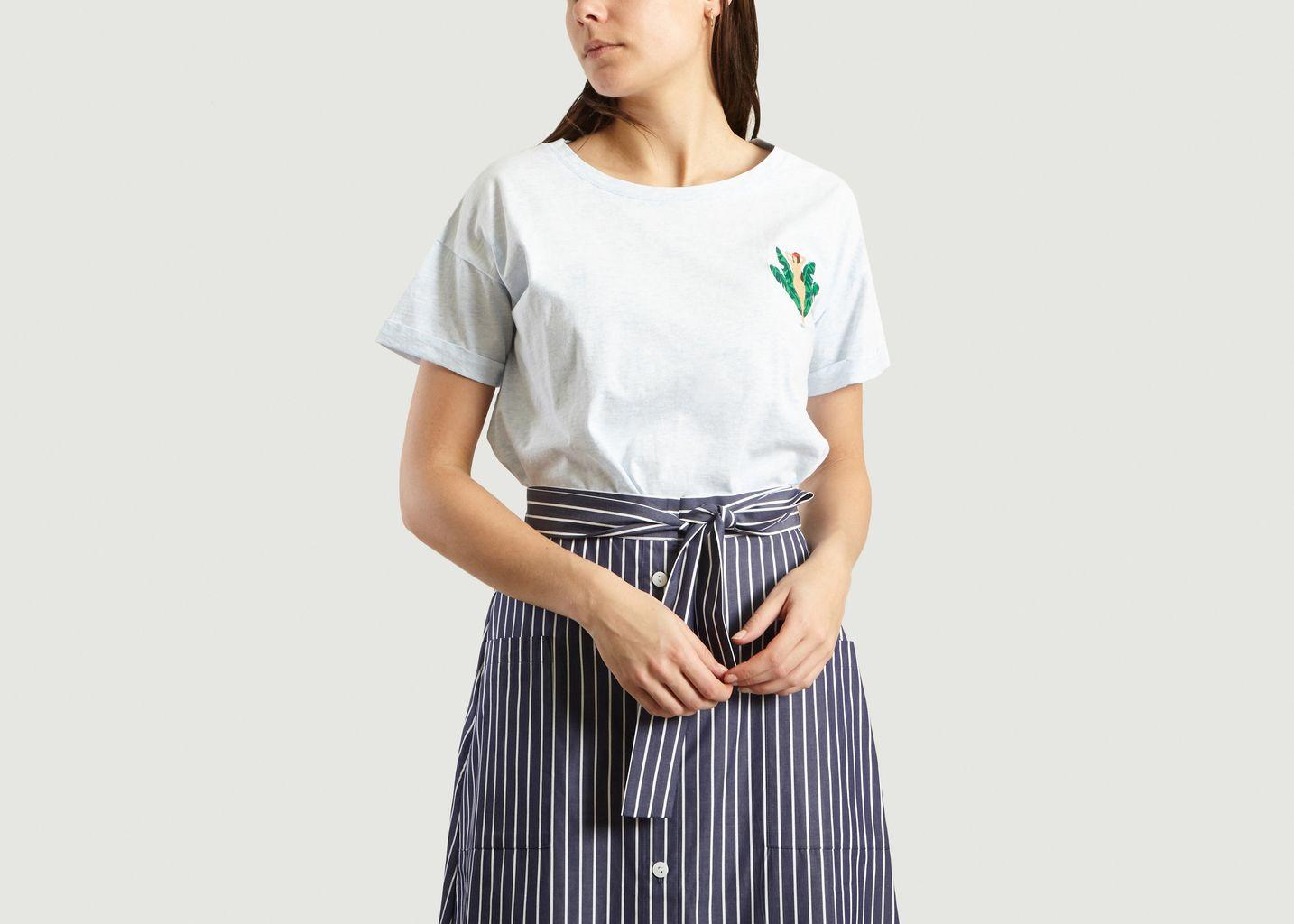 T-Shirt Vahiné Brodée Gracita - Cuisse de Grenouille