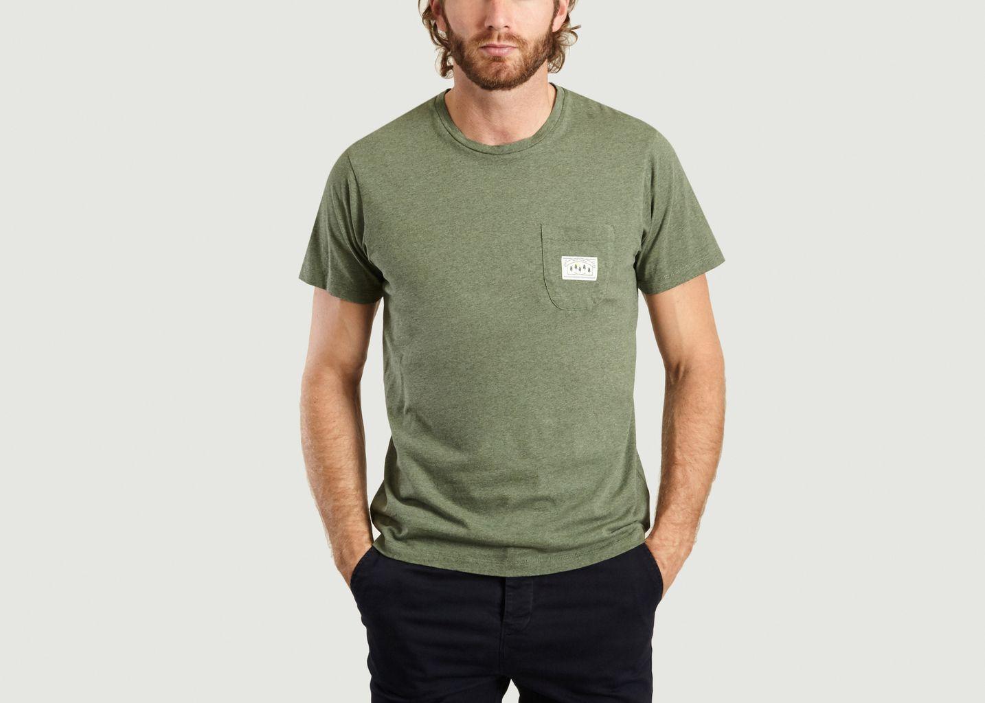 T-shirt Poche Label - Cuisse de Grenouille