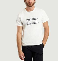 T-shirt Surf into the wild