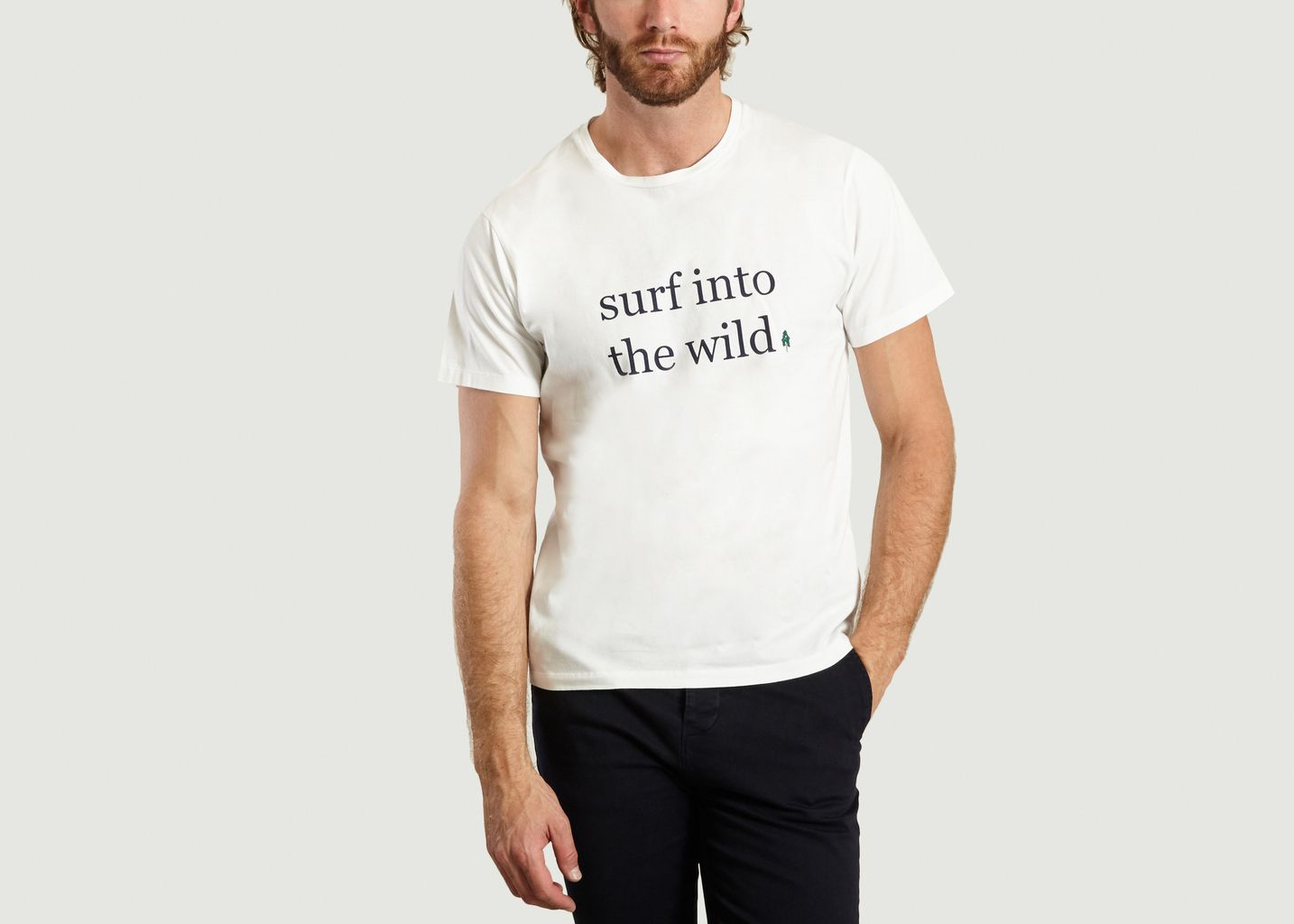 T-shirt Surf into the wild - Cuisse de Grenouille