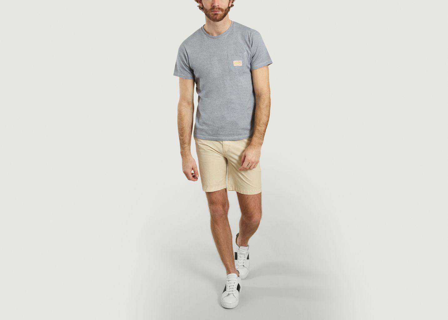 T-Shirt A Poche Avec Ecusson Jay - Cuisse de Grenouille