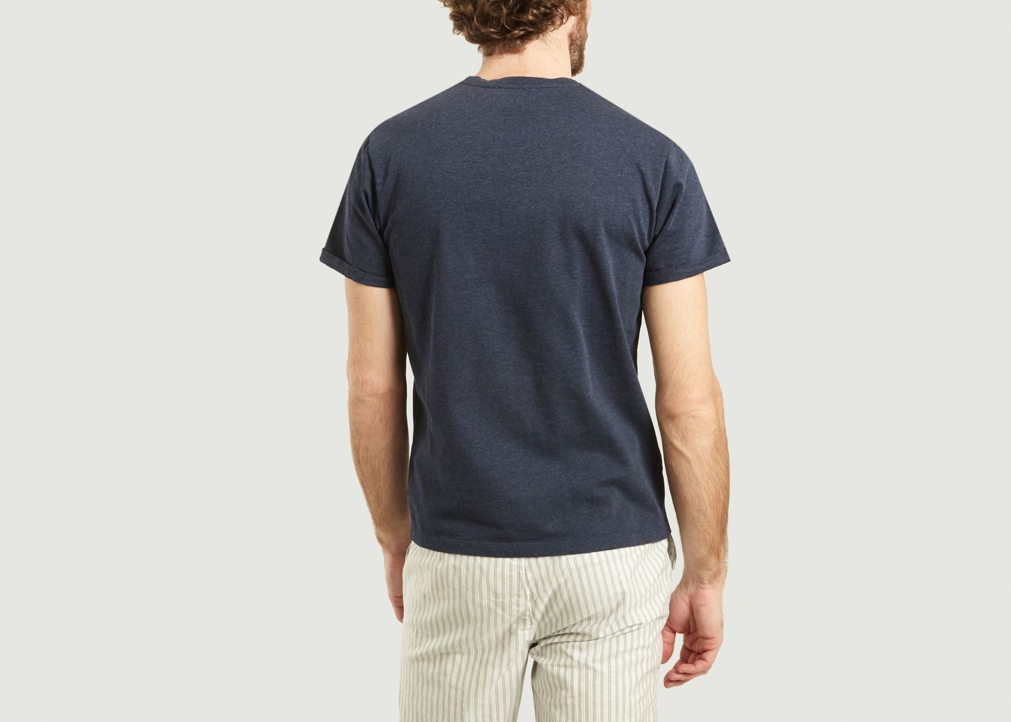 T-Shirt A Poche Siglée Jun - Cuisse de Grenouille