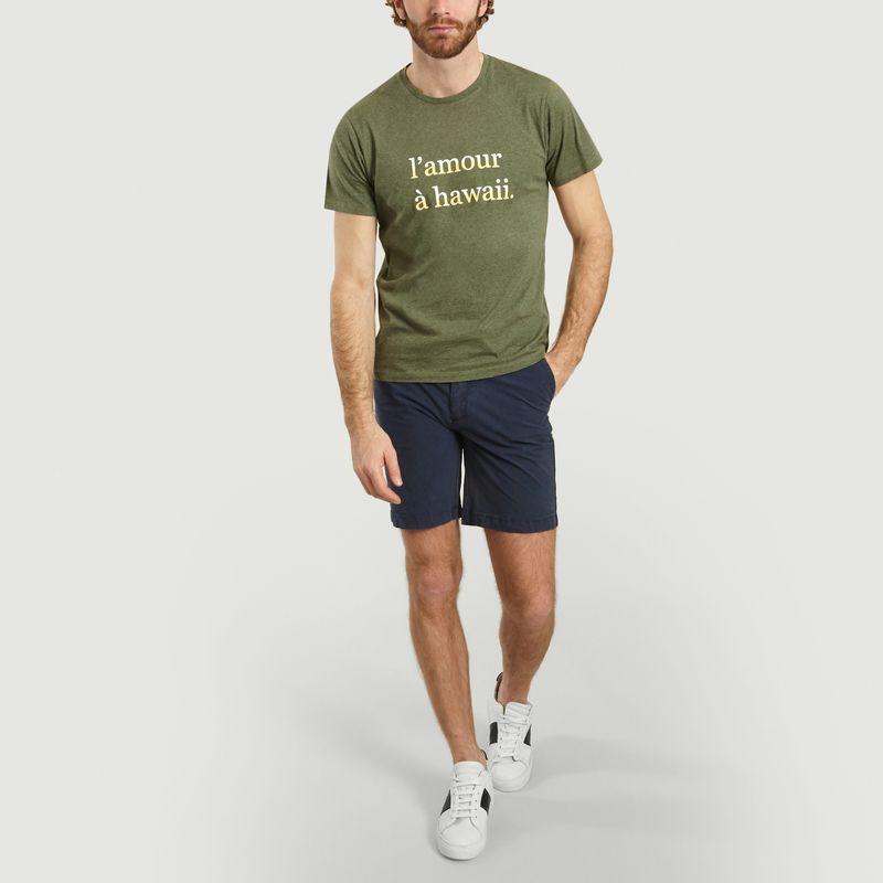 T-Shirt L'Amour A Hawaï Joel - Cuisse de Grenouille