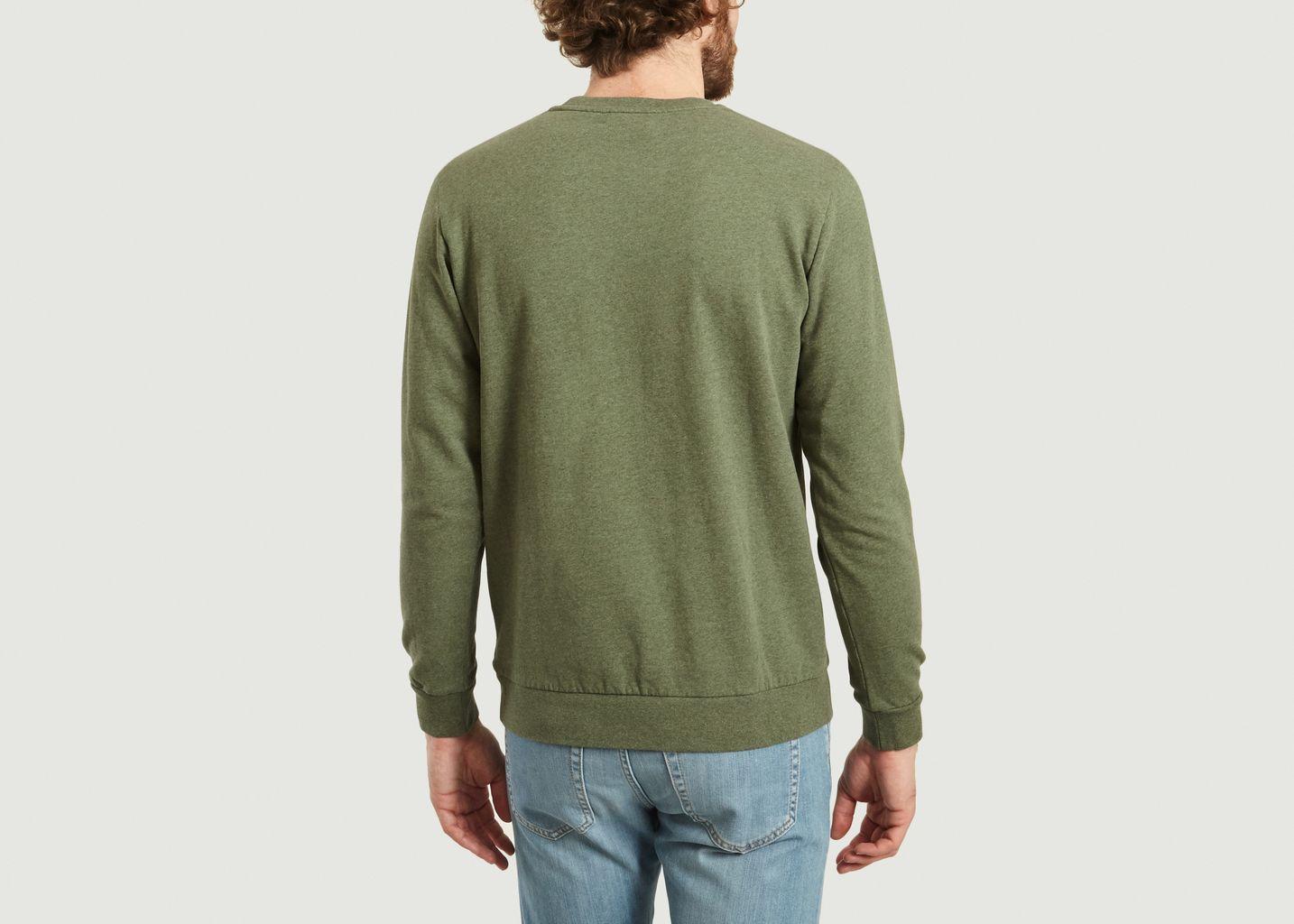 Sweatshirt L'Amour A Hawaï Jamel - Cuisse de Grenouille