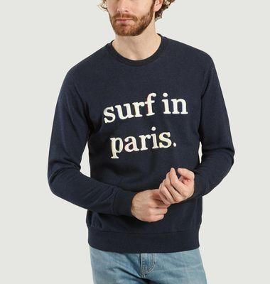 Sweatshirt Surf In Paris José