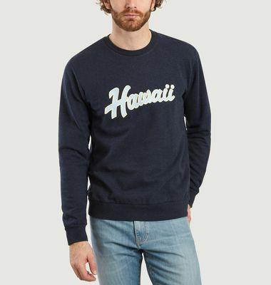 Sweatshirt Imprimé Hawaï Juste