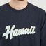 matière Sweatshirt Imprimé Hawaï Juste - Cuisse de Grenouille