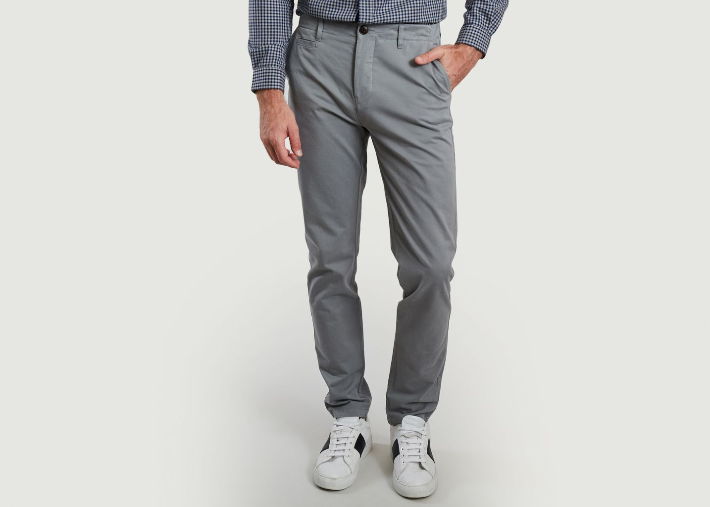 Pantalon en coton bio Chino Classic - Cuisse de Grenouille