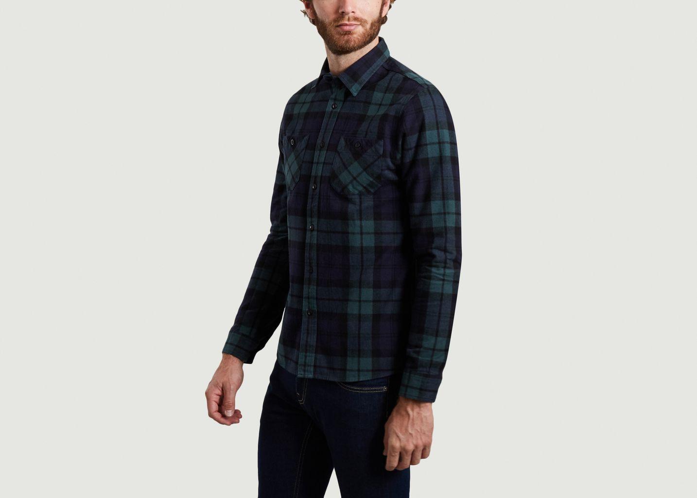 Chemise en flanelle à carreaux Klotaire - Cuisse de Grenouille