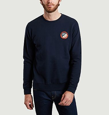 Sweatshirt en coton bio avec patch Koko