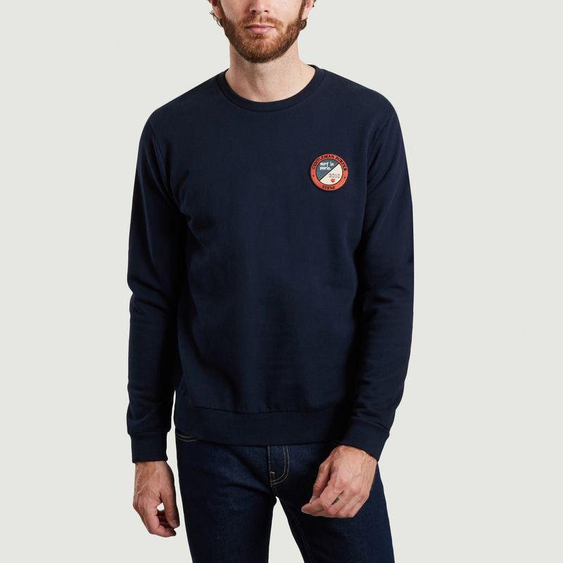 Sweatshirt en coton bio avec patch Koko - Cuisse de Grenouille