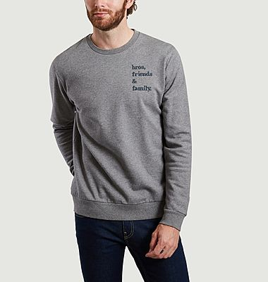 Kliff embroidered sweatshirt
