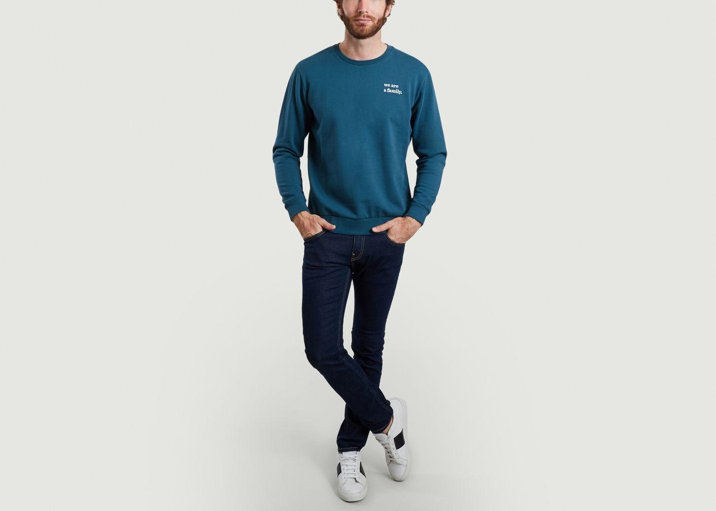 Sweatshirt brodé Karim - Cuisse de Grenouille