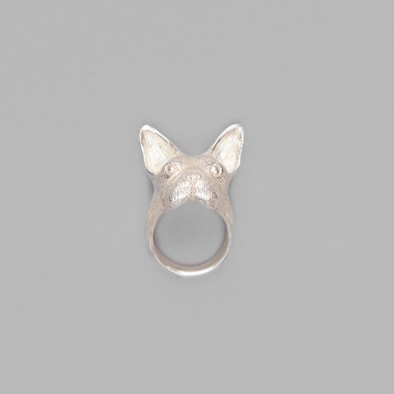 Bague Masque de Bulldog - Culoyon