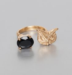 Duo Owl Ring