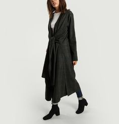 Chequered Dress Coat