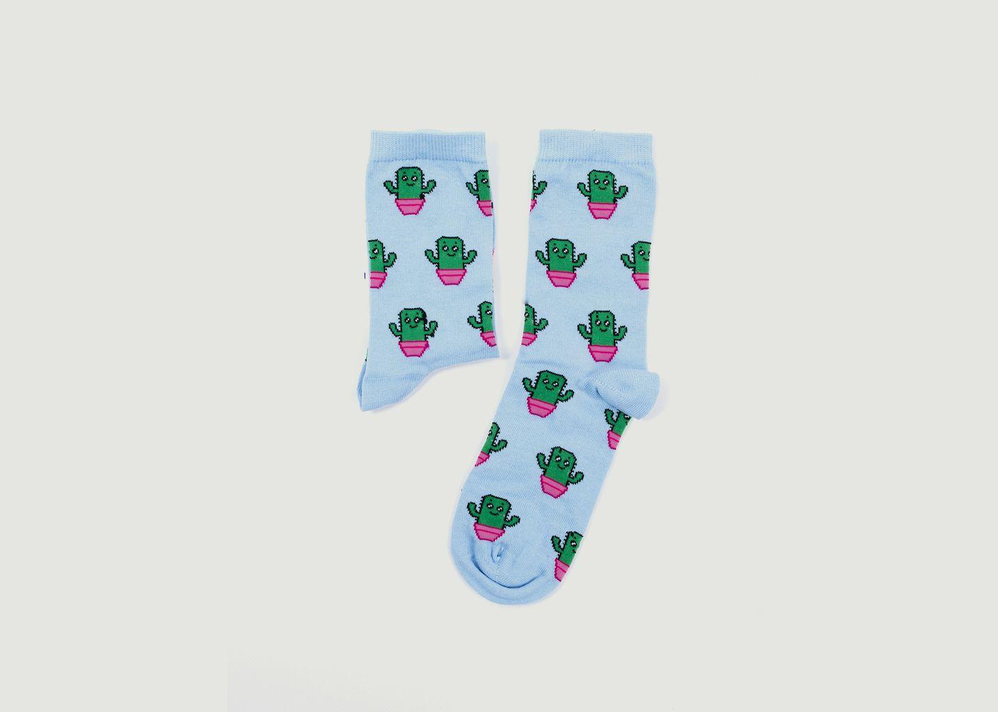 Chaussettes Cactus - De Pied Ferme