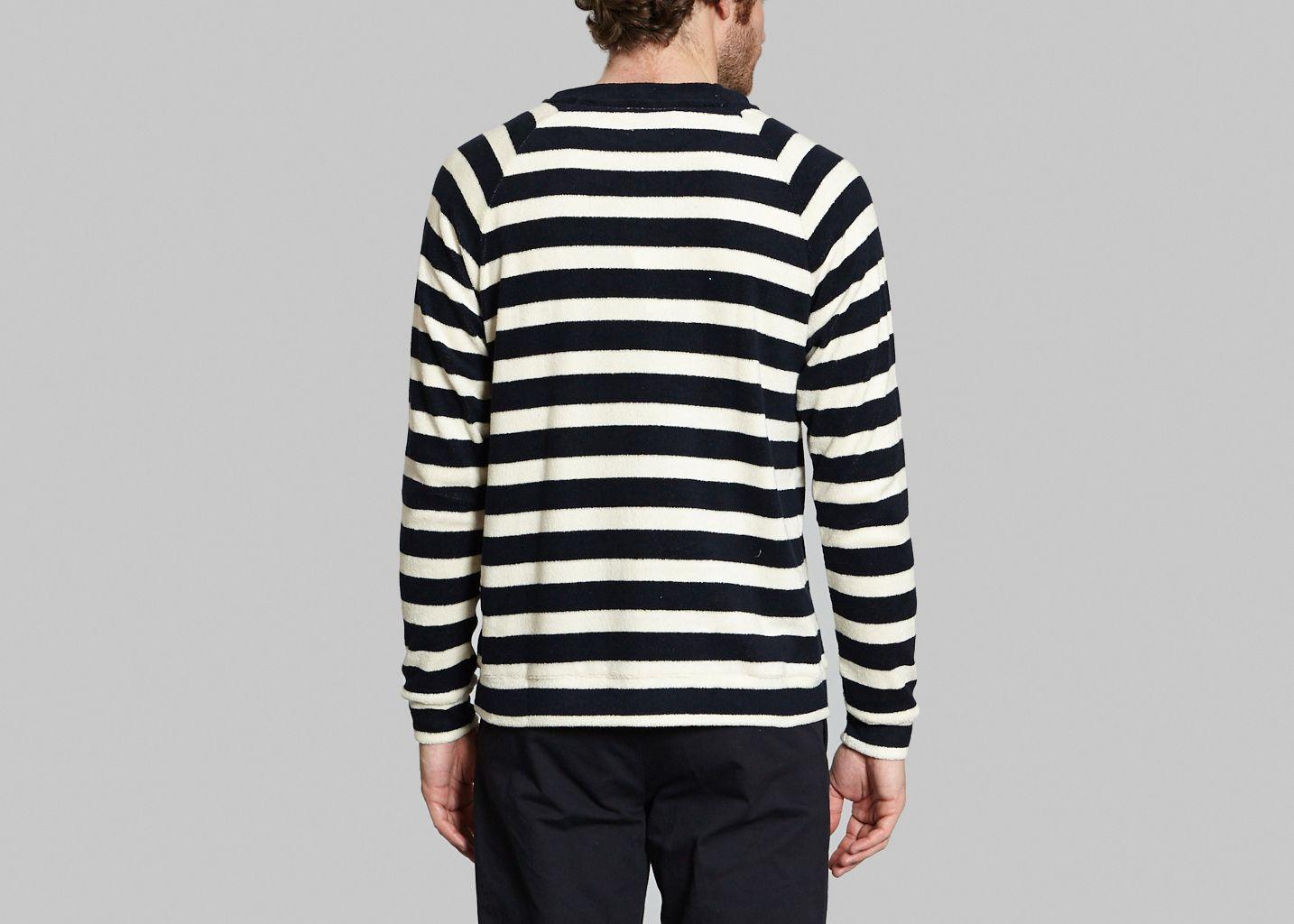 Sweatshirt Rayé - De Bonne Facture