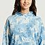matière Hoodie imprimé tie and dye Sundborn - Dedicated Brand