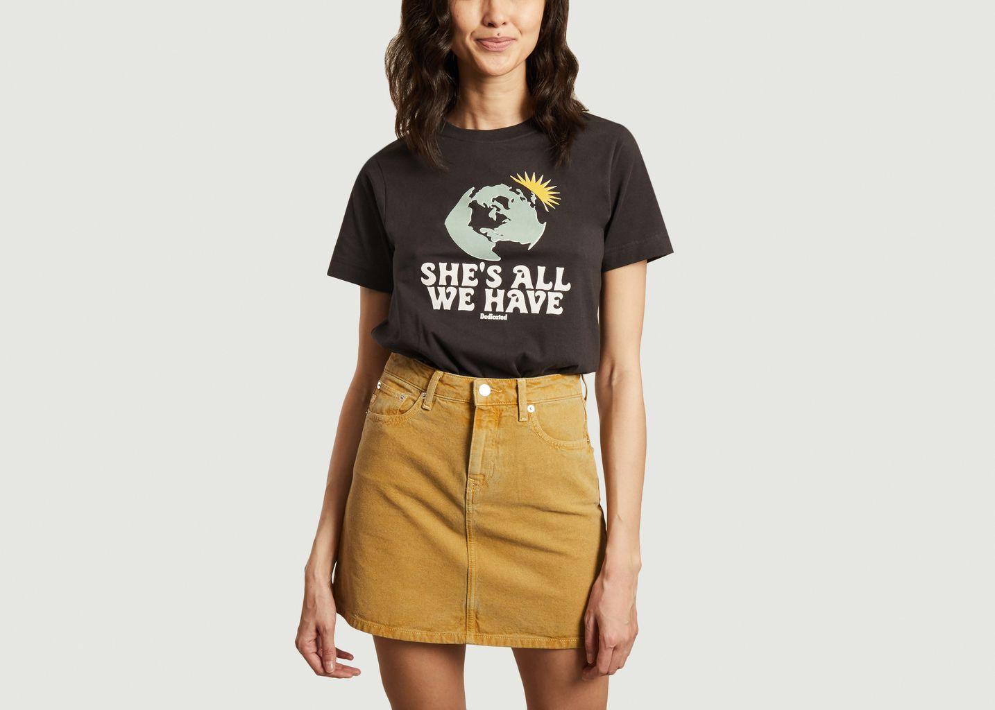 T-shirt en coton bio Mysen All We Have - Dedicated Brand